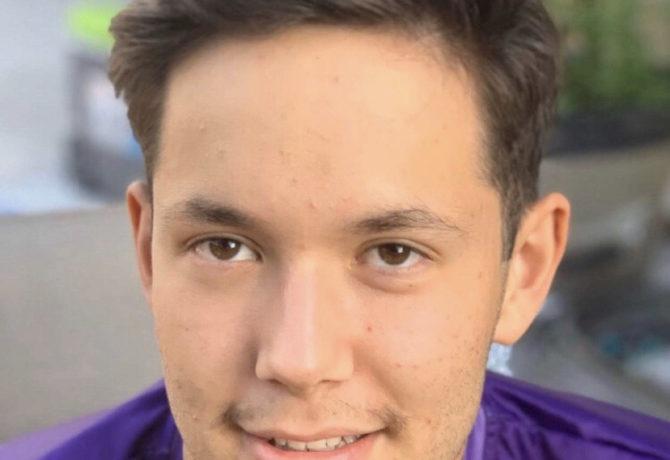 Alumnus Brandon Alcala