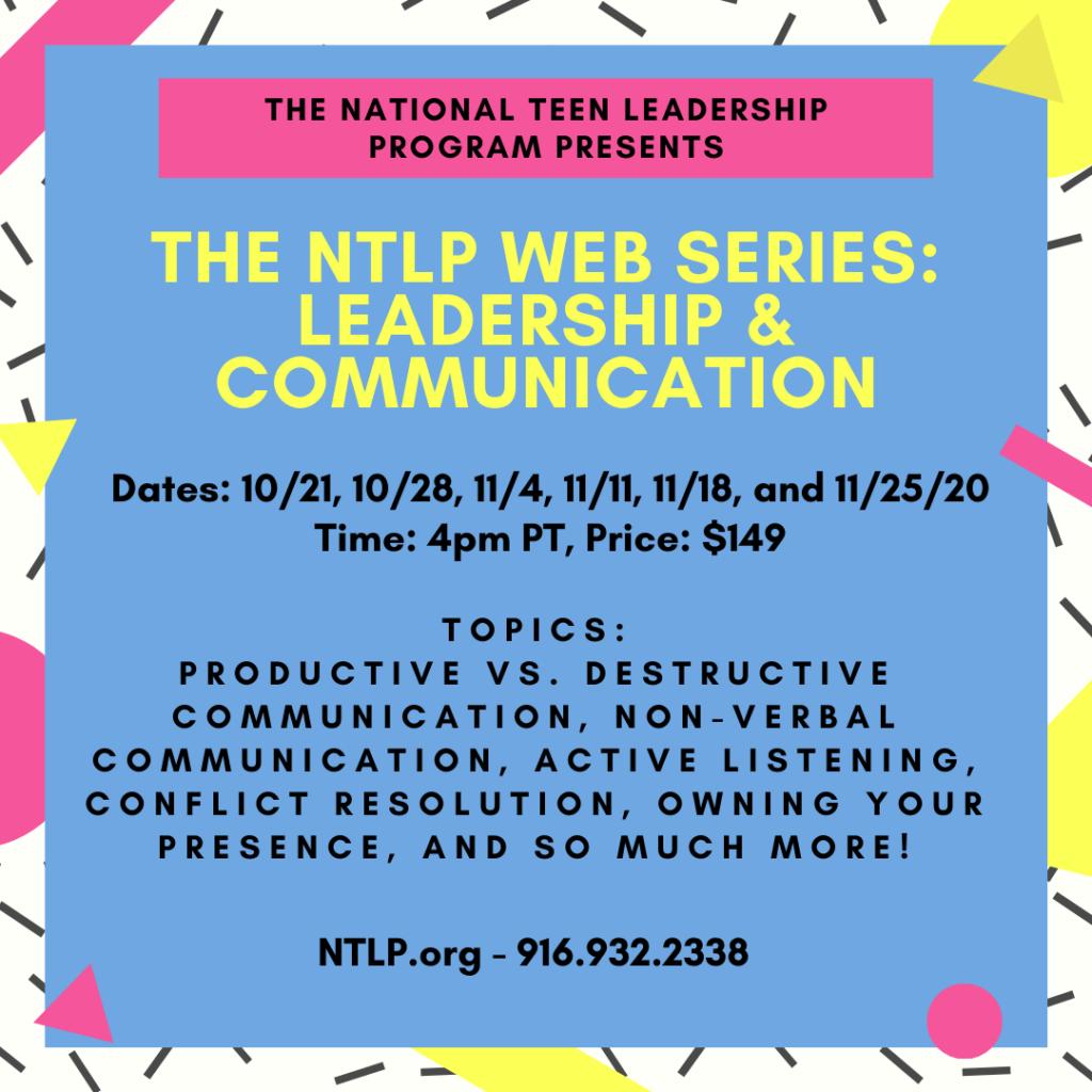 October Web Series Communications