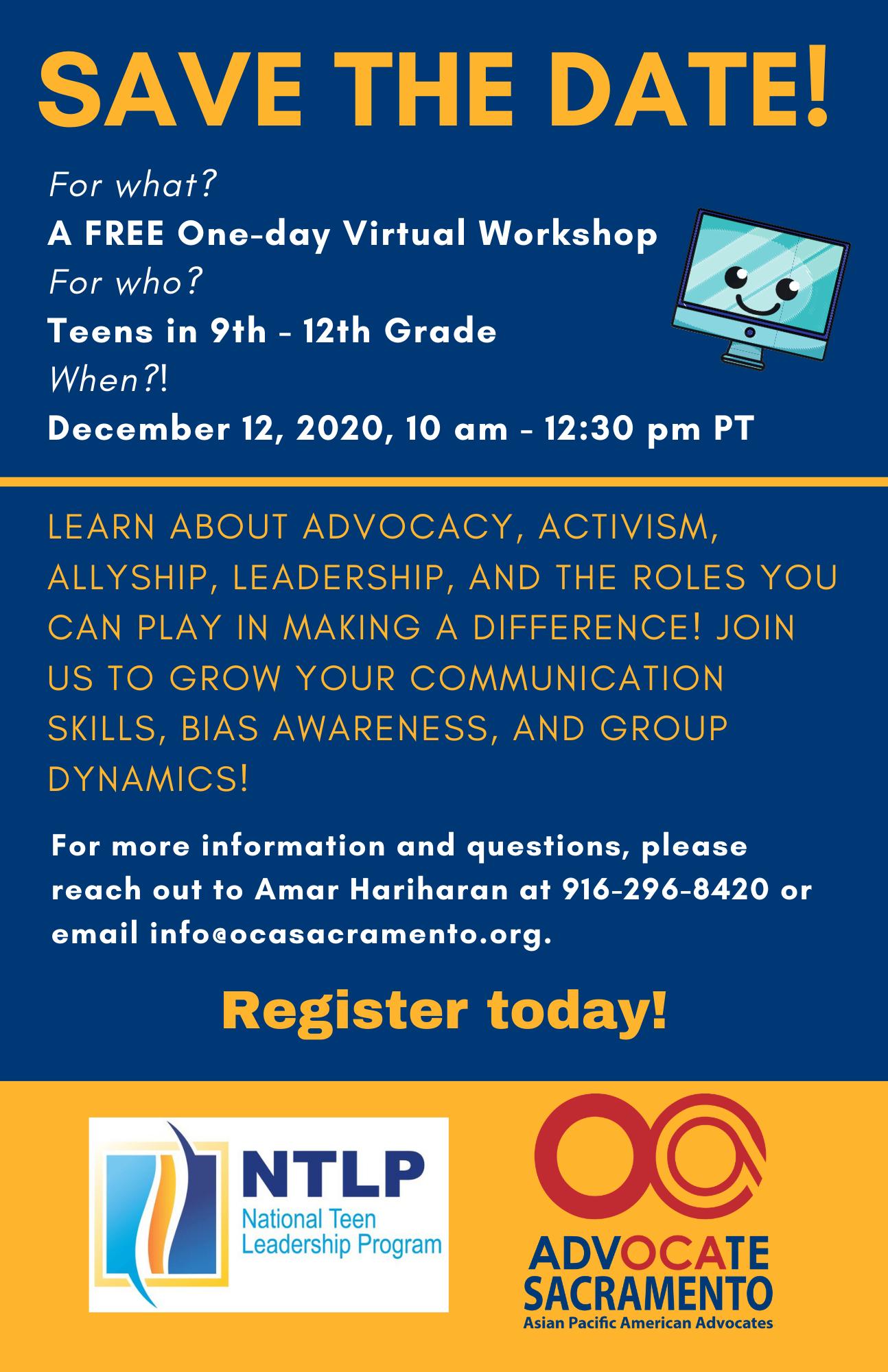 OCA Advocacy