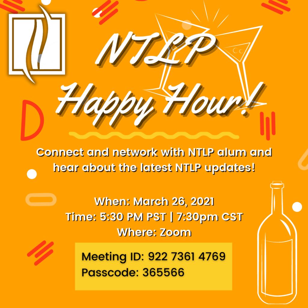 NTLP Happy Hour